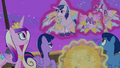 Twilight makes fun of Shining Armor's airsickness S7E22.png