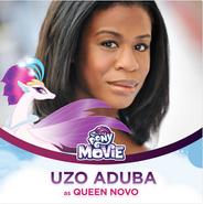 Uzo Aduba jako królowa Novo
