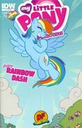 MLPFIM Rainbow Dash Micro Dynamic Forces RE Cover