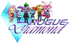 Rogue Diamond comic logo