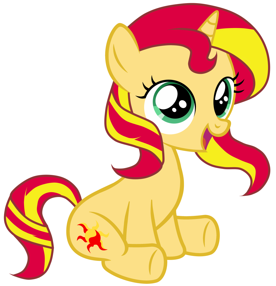 Image - Filly Sunset by FlutterShy-7.png | My Little Pony Fan Labor ...