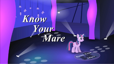 Know Your Mare by luna-is-best-pony