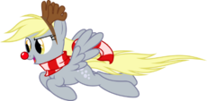 Derpy Hooves Christmas pony by artist-up1ter
