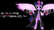 Twilight Sparkle wallpaper by artist-oliminor