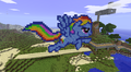 FANMADE Rainbow Dash Minecraft v2.png