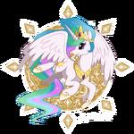 Princess Celestia by artist-jiayi