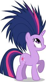 Twilight Sparkle hair