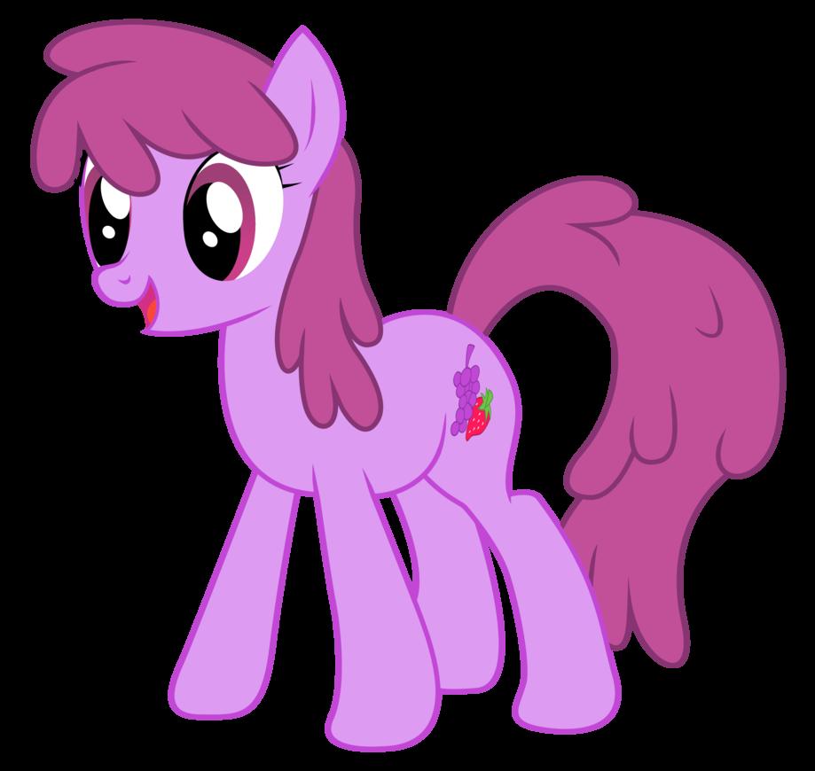 Berry Punch My Little Pony Fan