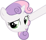 Sweetie Belle - nope.avi by SuxtonHael