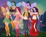 Goddesses of Harmony