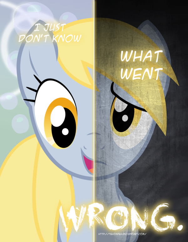Mlp Two Sides Of Derpy Revamped By Tehjadeh D5yw6i6