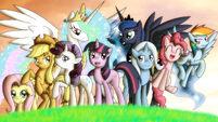 Pony POV Series Season One Reharmonized Ponies coverart