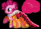 Pinkie Pie Gala Fashion Dress by artist-selinmarsou