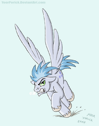 MLP - stratus in a really bad mood by yoorporick