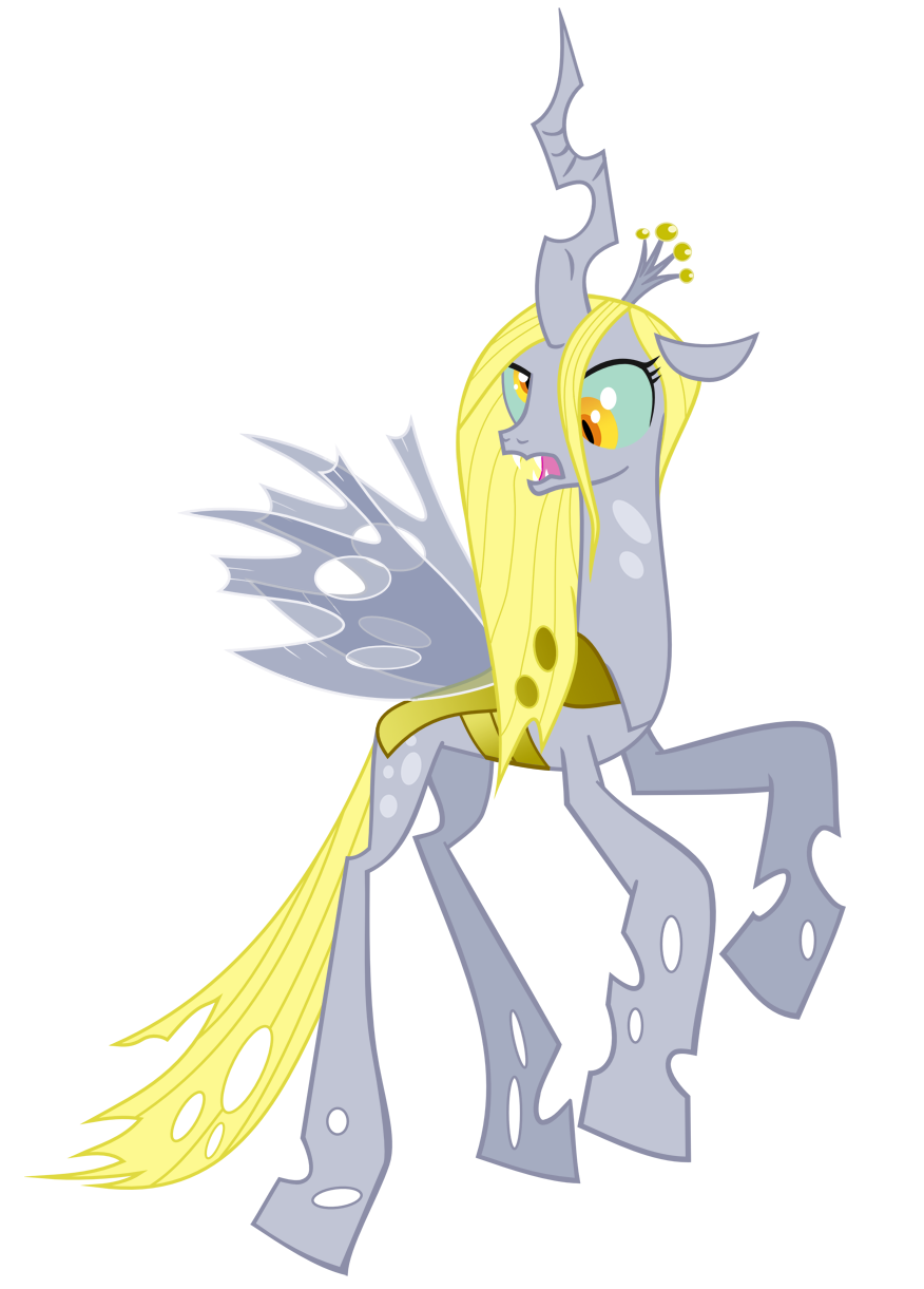 Image Queen Chrysalis recolor with Derpy by artistvoodootikipng