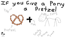 If you Give a Pony a Pretzel coverart