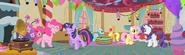 Pinkie Pie Gummy party panorama S1E25