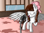 Singing by phoenixdash-d8b4j8n