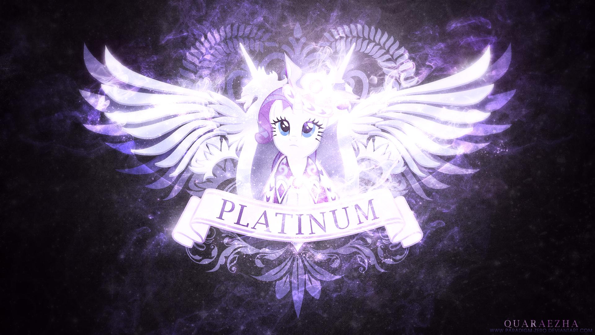 Rarity Princess Platinum Wallpaper By Artist Paradigm Zero