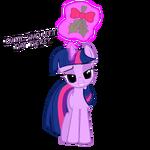 Twilight Sparkle Christmas Pony by artist-navitaserussirus