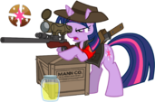 Twilight is a sniper