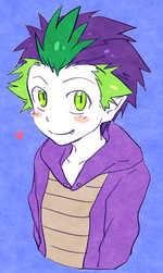 Spike by megarexetera