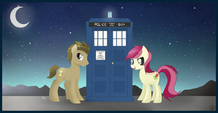 Doctor whooves and his trusty companion by balloons504-d653pwm-1-