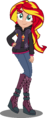 EqG Sunset Shimmer alternate design by SelisuFlyer.png