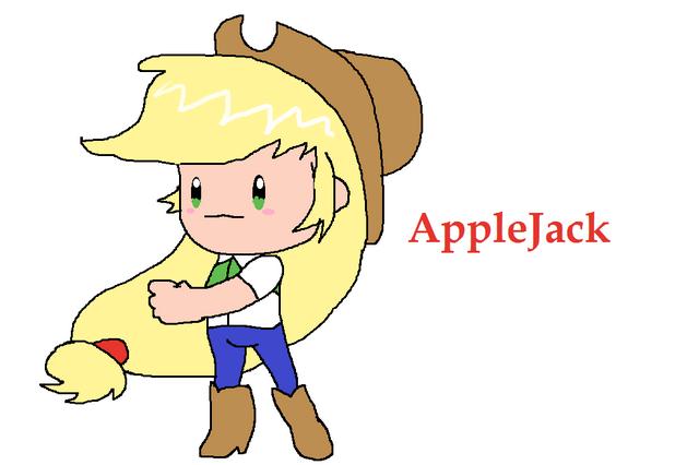File:Applejack in EarthBound.png
