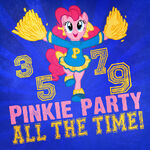 Pinkie Pie cheers on