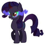 Rarity infected by dark magic by artist-tzolkine