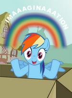 """Rainbow Dash """"Imaaaginaaation"""""""