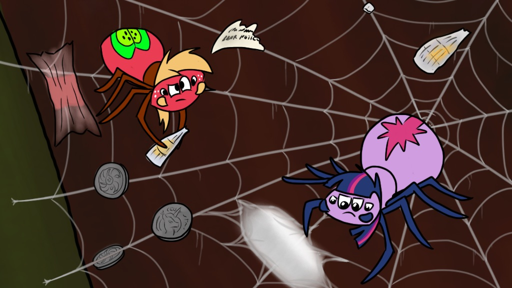 Rainbow Dash Presents Spiderses