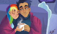 Keeping Warm by Ric-M