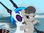 Vinyl Scratch and Octavia Cruise