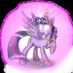 Twilight Sparkle Alicorn Pony (Element of Harmony) by artist-shurikat