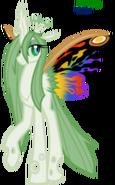 Mothra pony by faith wolff-d6henzm
