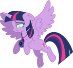 Twilight sparkle flying brainwashed by caliazian