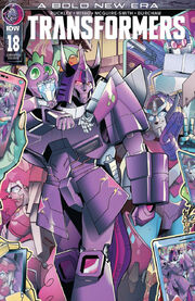 Transformers (2019) issue 18 cover RE B