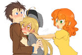 Carrot Top ships Doctor and Derpy by megarexetera