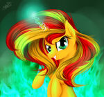 Sunset Shimmer by HappyKsu