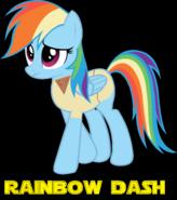 Rainbow Dash as Luke Skywalker