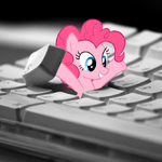 Pinkie popping out from your keyboard