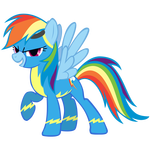 Rainbow Dash finally joins the Wonderbolts