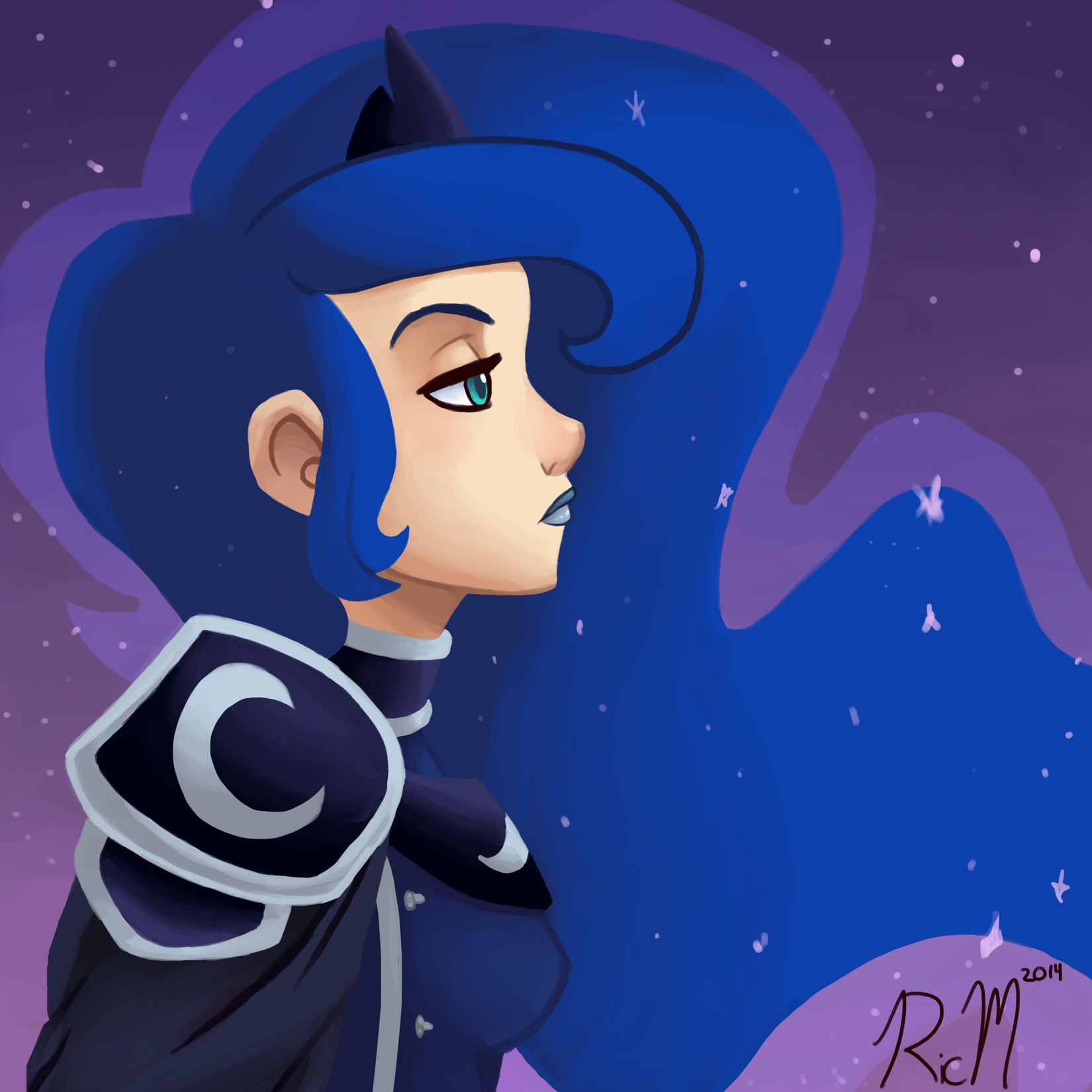 Image Princess Luna by RicMpng