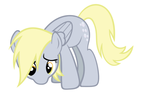 Derpy - Sad by Ocarina0FTimelord