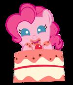 Pinkie pie plays peekaboo by xfizzle-d52ai9a