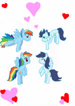 Love has been doubled by rainbowdashfanselin