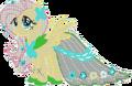 Fluttershy Gala Dress Minecraft.png