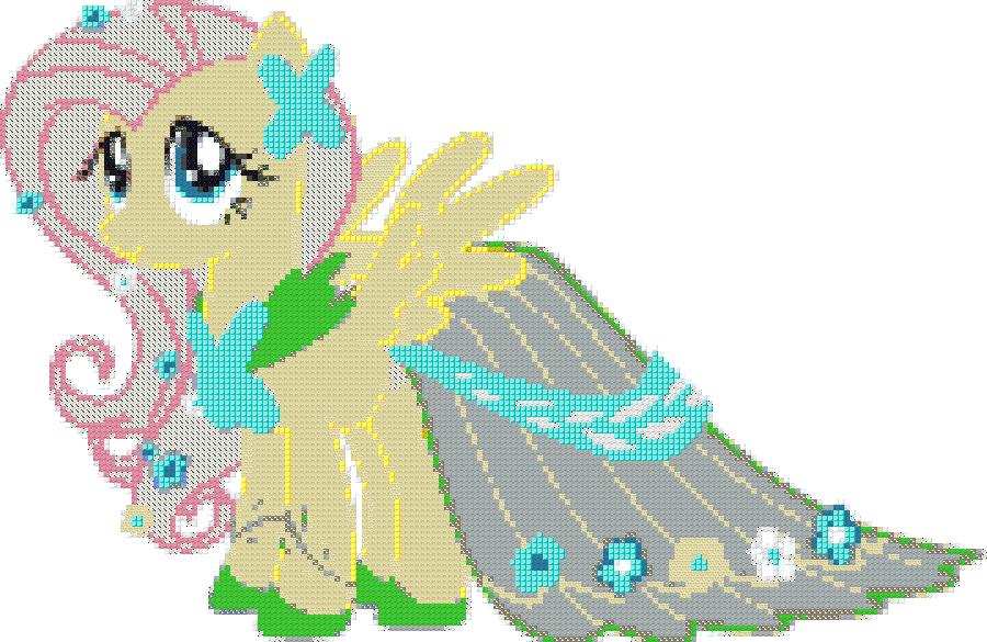 image fluttershy gala dress minecraft png my little pony fan